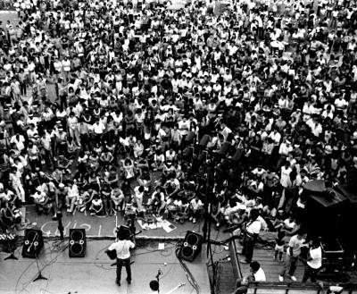 Registro da Faculta, nos anos 80, na C1 de Taguatinga